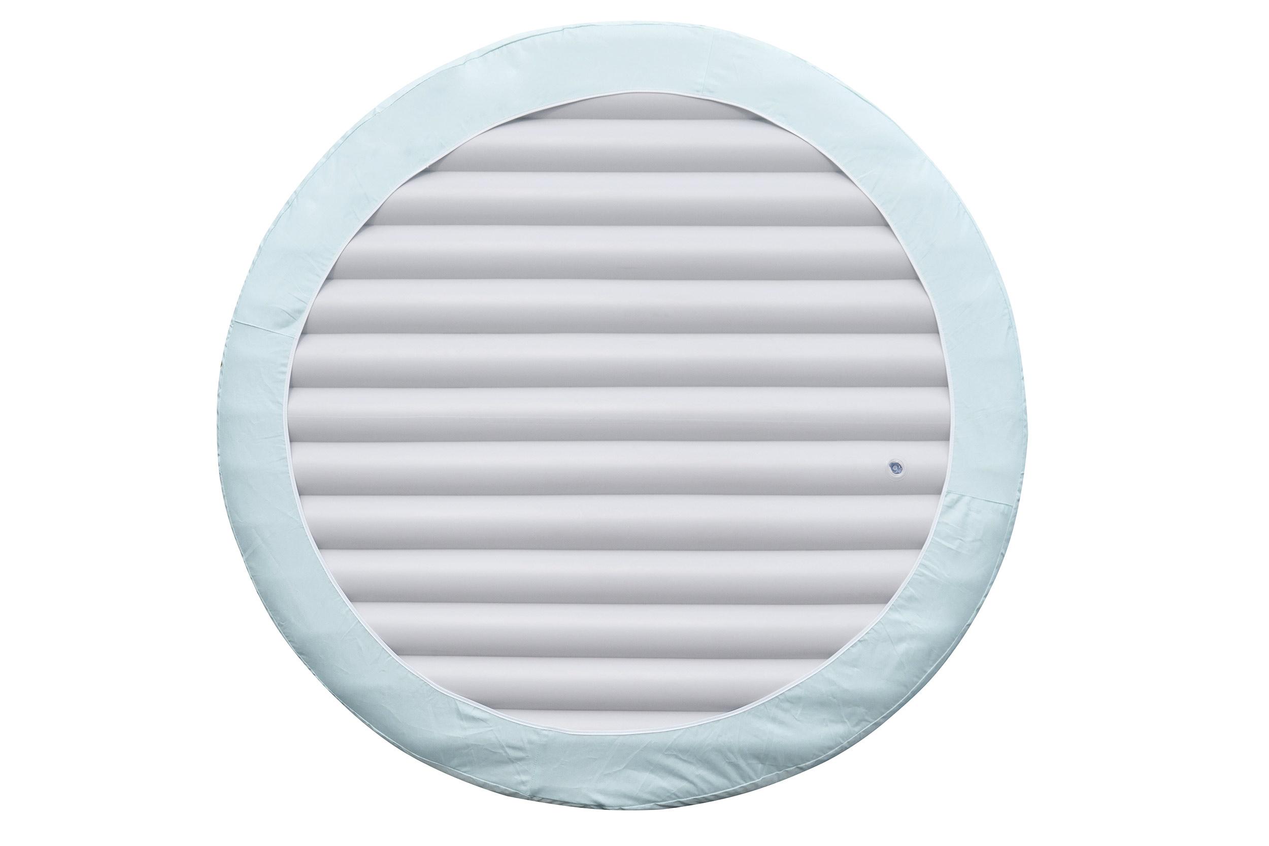 Aufblasbare Abdeckung für Whirlpool mit Clipverschluss