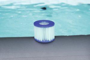Antimikrobielle Filterkartusche für aufblasbaren Whirlpool