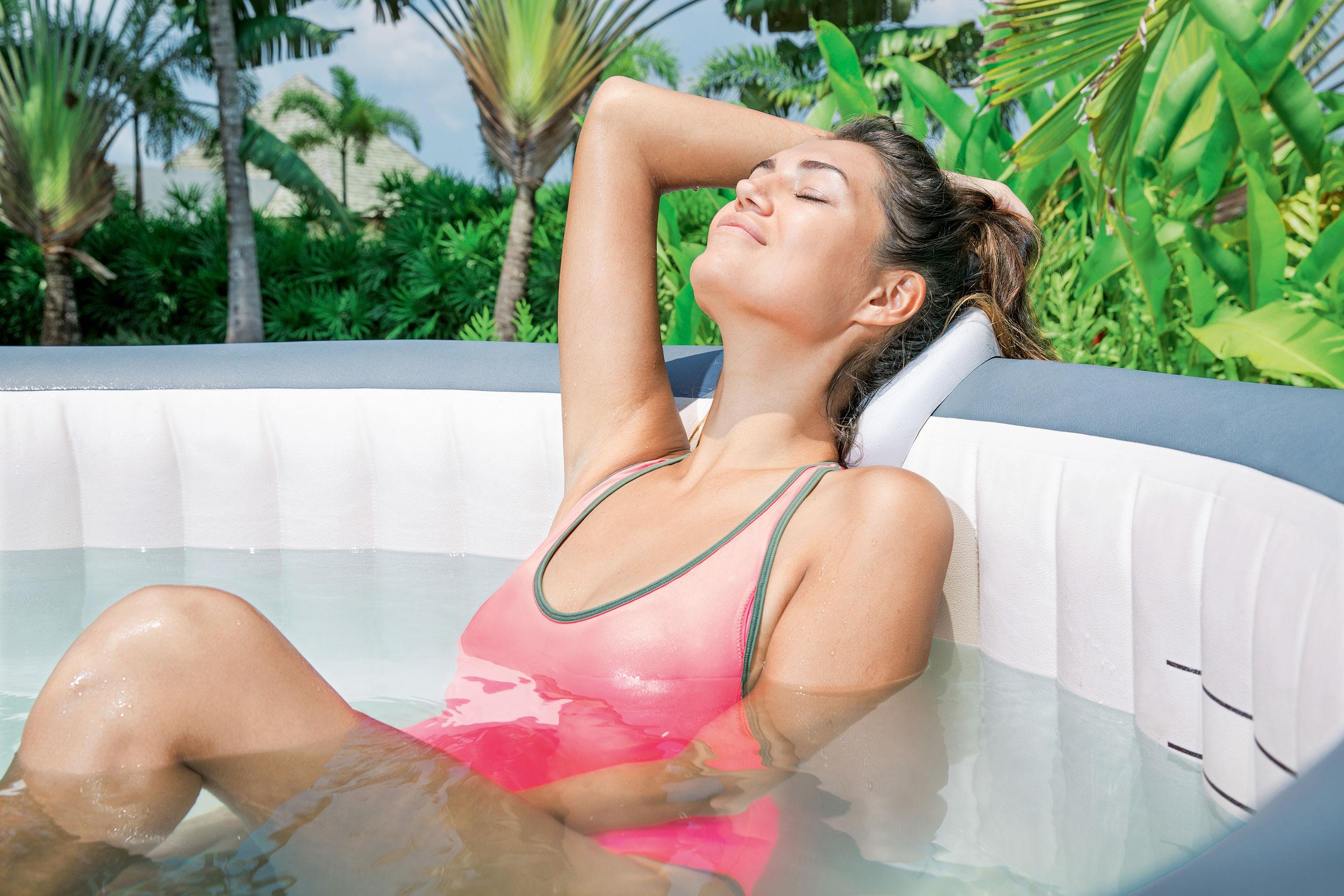 Fühlen Sie sich abgeschlagen und gestresst? Probieren Sie es mit Hydrotherapie!